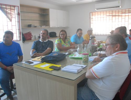 Direção do Sintest/RN se reuniu nesta quarta-feira