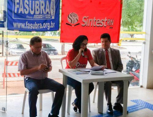 Servidores da UFERSA deliberam reunião com reitor para cobrar posicionamento contrário à IN02