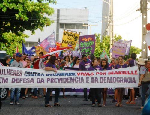 8 de março é marcado por manifestação no centro da cidade