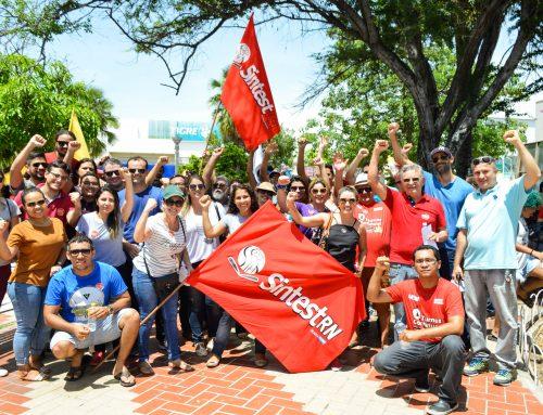 Servidores da UFERSA participam dos atos contra reforma da previdência