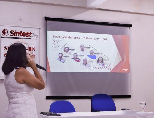 SINTEST/UFERSA participa do Seminário de Integração dos Novos Servidores