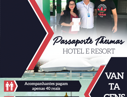 SINTEST/UFERSA renova contrato com Hotel Thermas