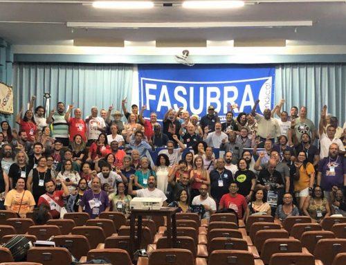 SINTEST/RN participa de Plenária da FASUBRA