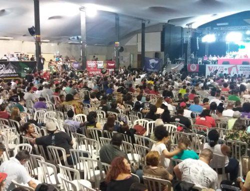 SINTEST participa de congresso da CSP Conlutas com dez delegados