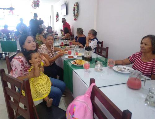 Confraternização em Santo Antônio