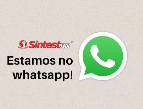 Agora estamos no whatsapp!