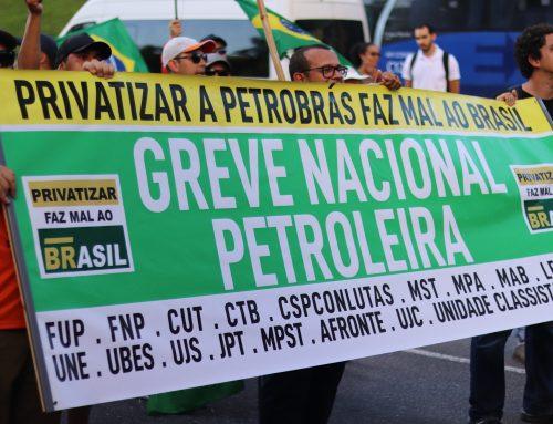 Greve dos petroleiros é suspensa temporariamente. Mediação acontece nesta sexta