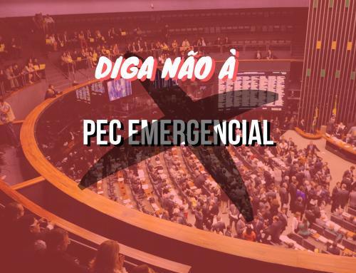 Consulta pública: DIGA NÃO à PEC Emergencial (186/2019)
