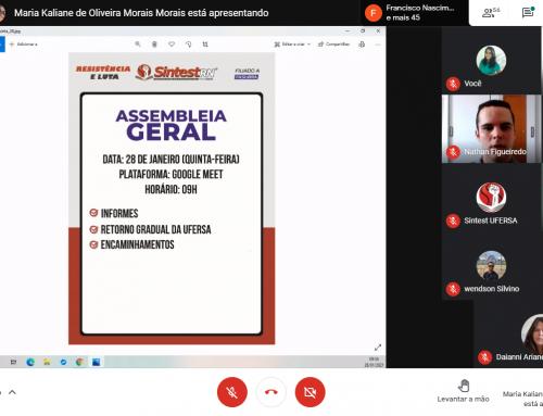 Servidores da UFERSA deliberam diversas ações sobre política de biossegurança da universidade