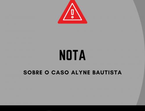 Nota de apoio a Alyne Bautista