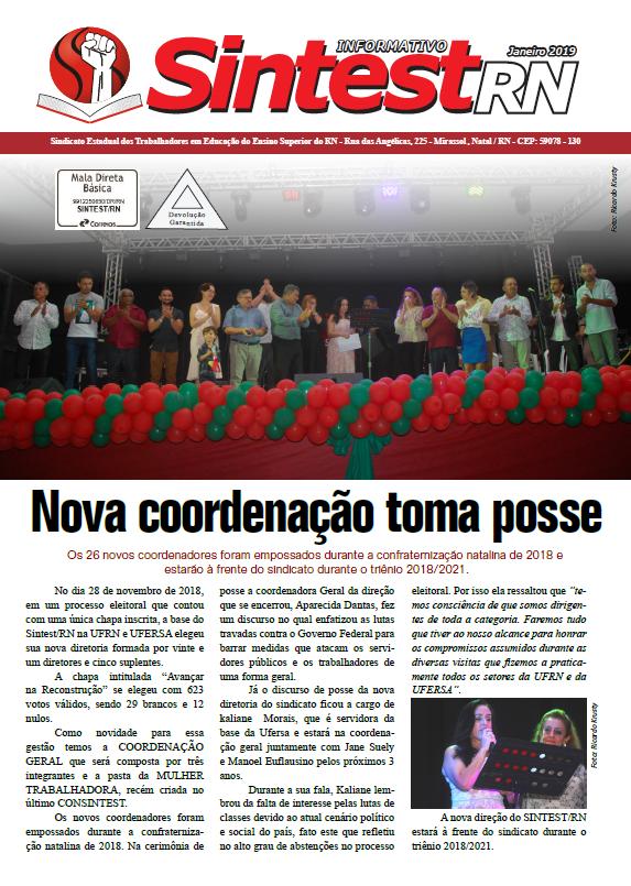 Jornal da Posse – Janeiro 2019