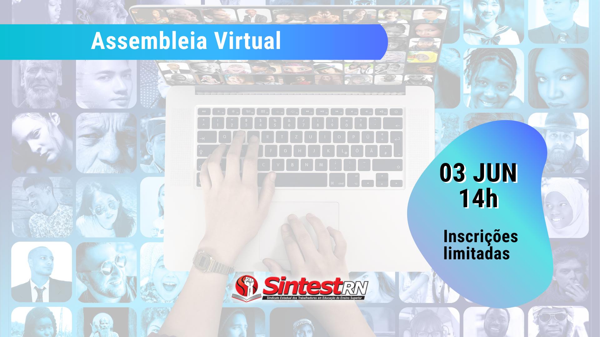 Assembleia virtual acontecerá dia 03 de junho