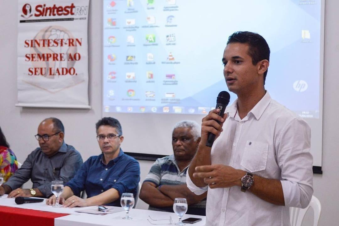 Ex coordenador do Sintest é eleito prefeito em Mossoró