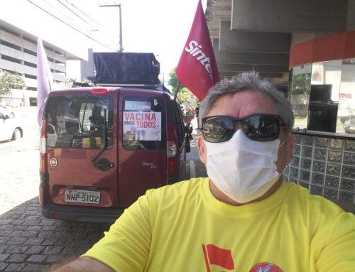 Mobilizações do Sintest/RN pelo Dia dos Trabalhadores e trabalhadoras