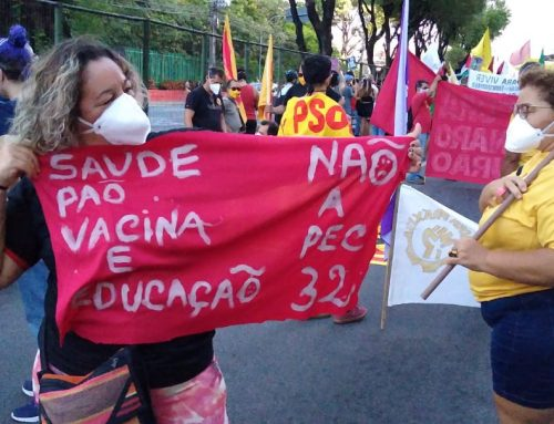 Sintest/RN vai as ruas em mobilização contra o governo Bolsonaro